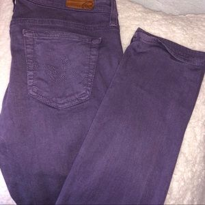 AG Adriano Golschmied Purple Jeans